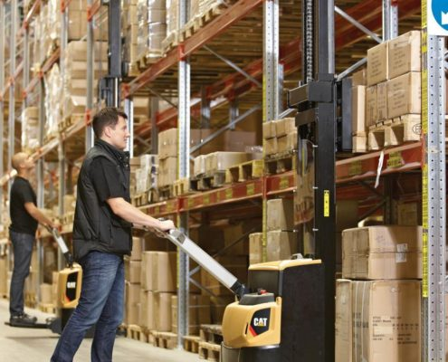 CAT Warehouse Stacker - Forklifts for Sale or Hire - Radnes Services