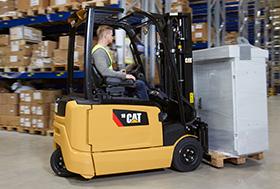CAT electric forklifts - Radnes Services Ltd