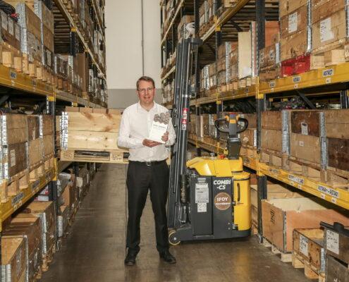 Combilifts Combi-CS wins International Award - Radnes Services